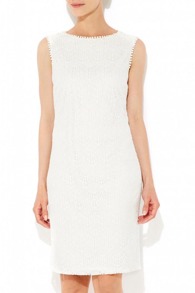 White Lace Shift Dress     Price: £42.00 click to visit Wallis