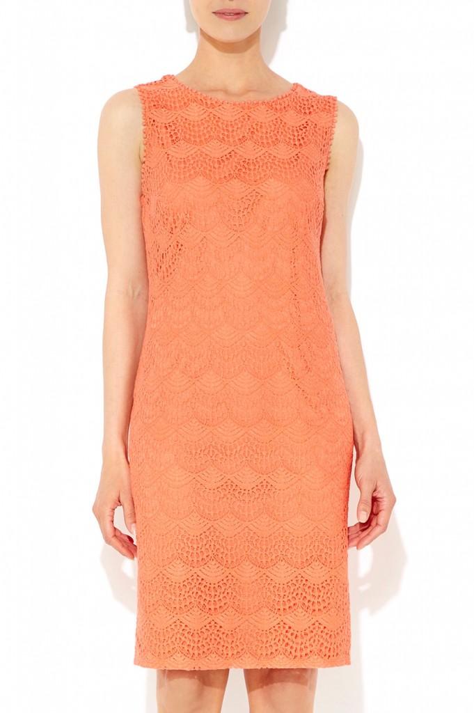 Coral Lace Shift Dress     Price: £42.00 click to visit Wallis