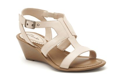 Our Style 3  Nude Leather now £22.49 click to visit Clarks