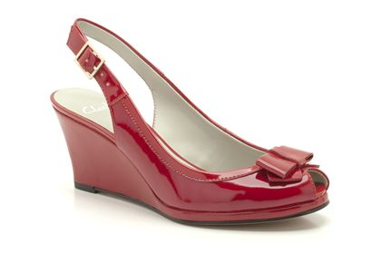 Skyla Bahama Red Patent now £19.99 click to visit Clarks