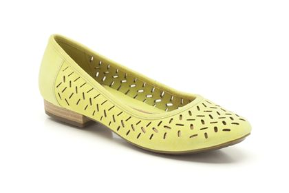 Henderson Silk 3 Lime Suede now £25 click to visit Clarks