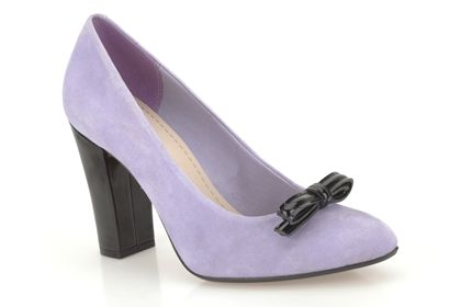 Babble Creek  Lilac Suede £24.99 click to visit Clarks