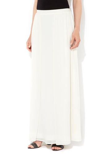 Ivory Layered Maxi Skirt     Price: £38.00 click to visit Wallis