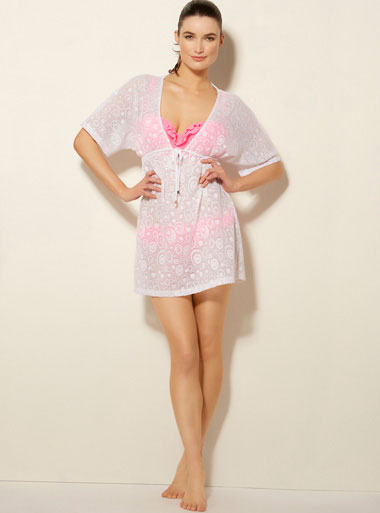 Lacey burn out kaftan £28.00 click to visit Boux Avenue