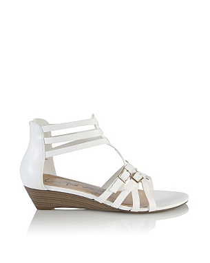 Gladiator Buckle Wedges £14.00 click to visit George at Asda