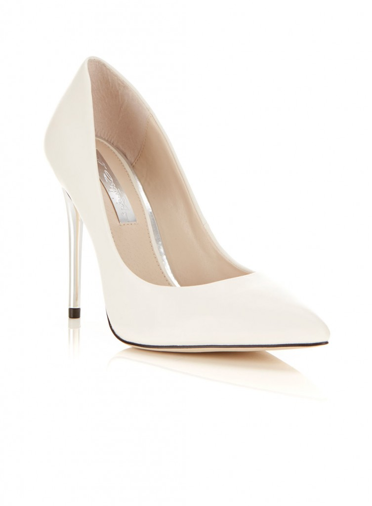 Glam White Heel     Price: £39.00 click to visit Miss Selfridge