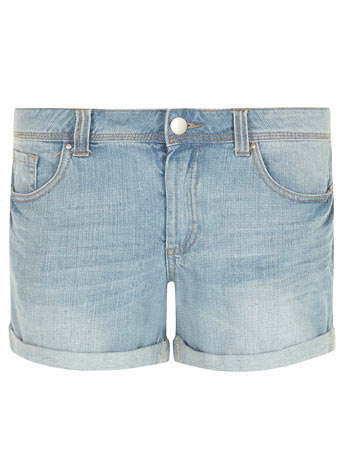 Lightwash Boy Shorts     Was £20.00     Now £18.00 click to visit Dorothy Perkins