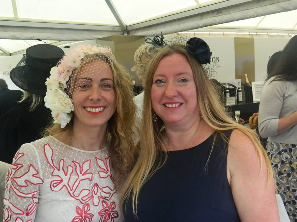 At last years Ladies Day with Charlotte Harper of the Edgbaston Priory Club.