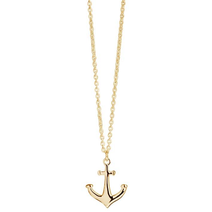Muru Anchor Pendant in Gold Vermeil £53.95 click to visit Lulu Winter