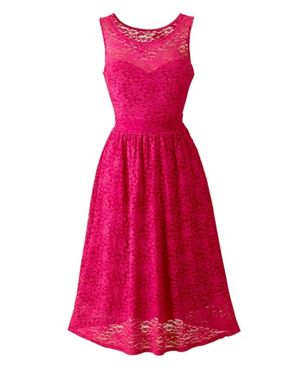 Lace Skater Dress Product Code: QG521CM £40.00 click to visit Fashion World