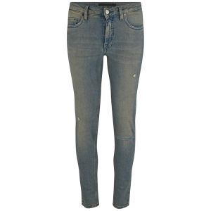 Victoria Beckham Womens Ankle Slim Ripped Skinny Jeans - Bleach Rip £250.00 click to visit Coggles