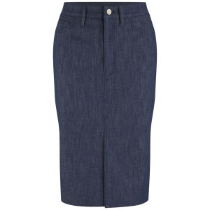 Victoria Beckham Womens Raw Denim Pencil Skirt - Raw Denim £275.00 click to visit Coggles
