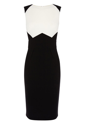 MILLA MONO DRESS £115.00 click to visit Coast