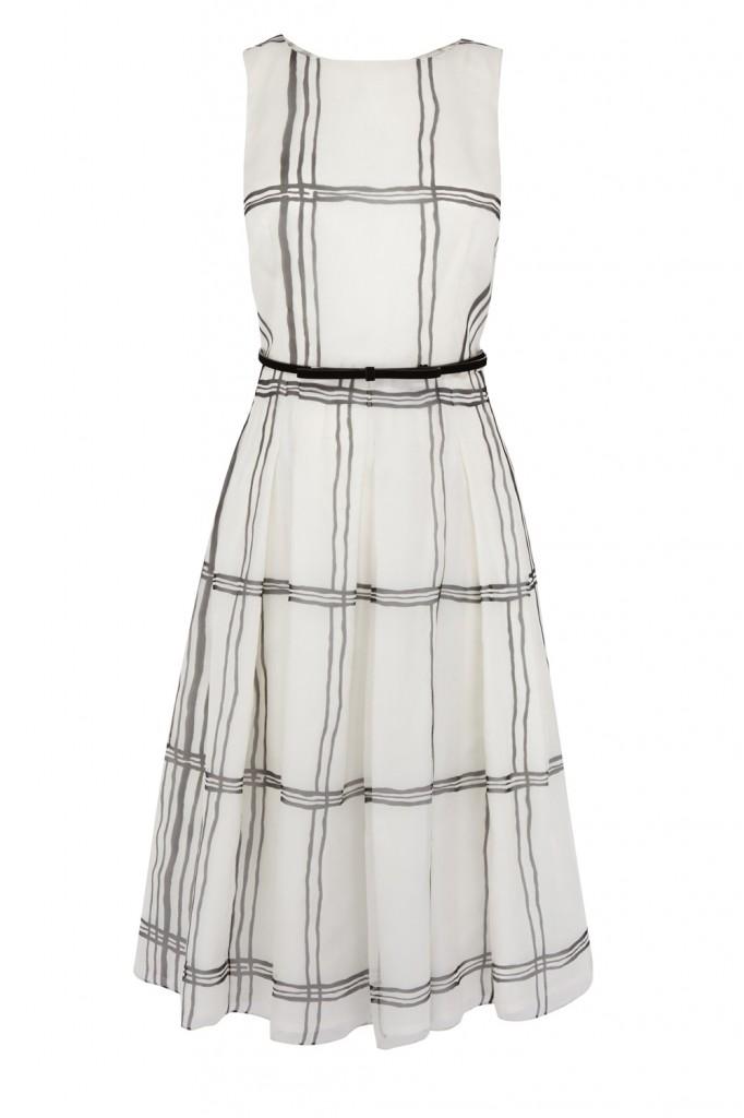 KIRA CHECK DRESS £160.00 click to visit Coast