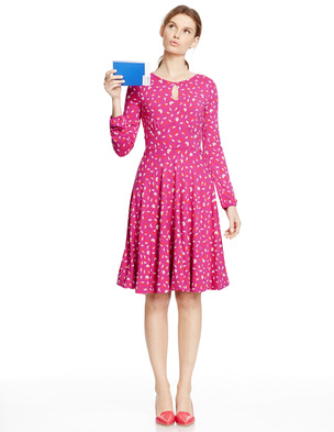 Marilyn Dress WH722 (Was £89.00 ) now £80.10 click to visit Boden