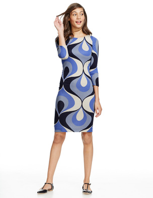 Retro Tunic Dress WH726 (Was £79.00 ) now £71.10 click to visit Boden
