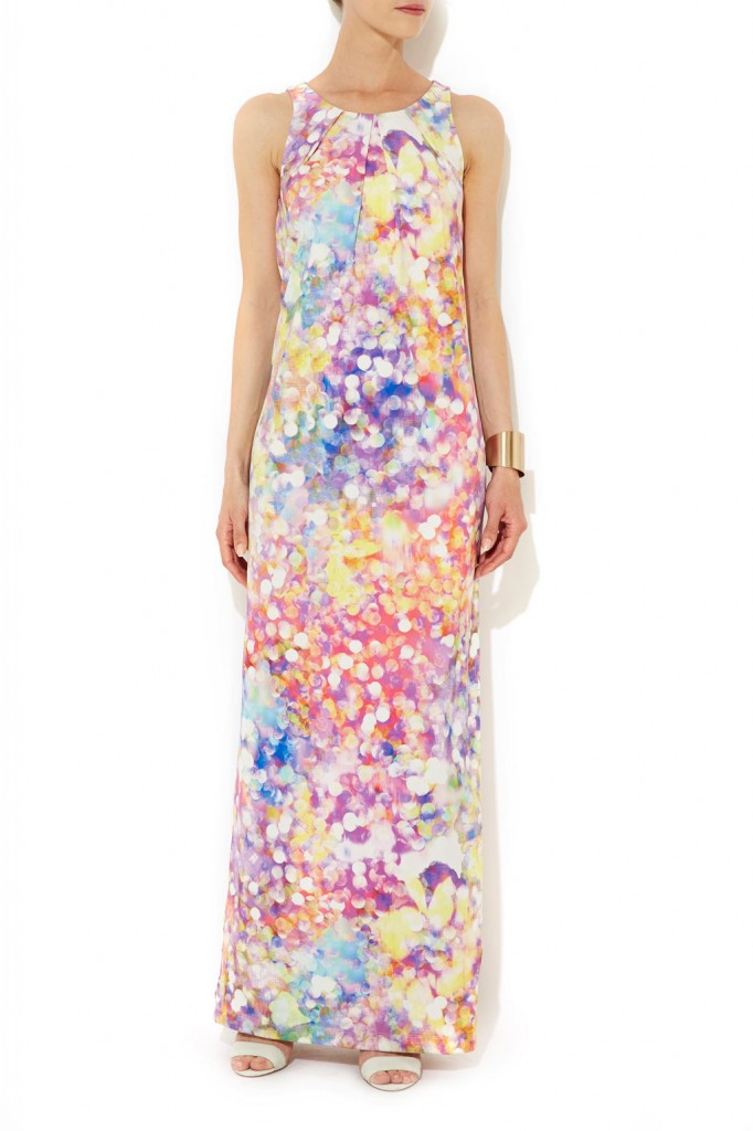 Multi Sequin Print Maxi Dress     Was £55.00     Now £44.00 click to visit Wallis
