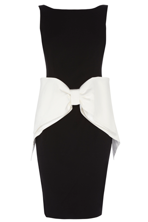 GLAMOUR BOW DRESS £160.00 click to visit Coast