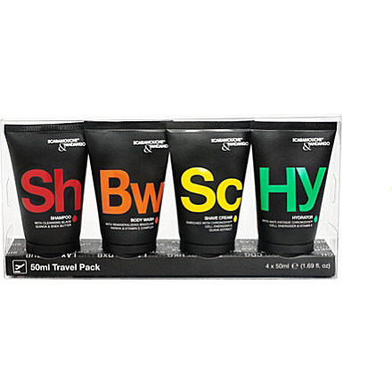 SCARAMOUCHE & FANDANGO Travel pack £14 click to visit Selfridges