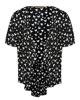Barbara Hulanicki Butterfly Print Kimono £14.00 click to visit Asda George