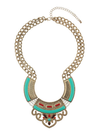 Triple Section Necklace Price: £12.50 click to visit Miss Selfridge