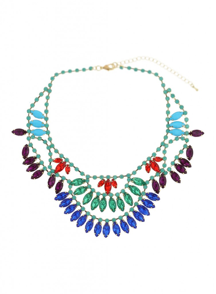 Bright Stone Collar Price: £30.00 click to visit Miss Selfridge