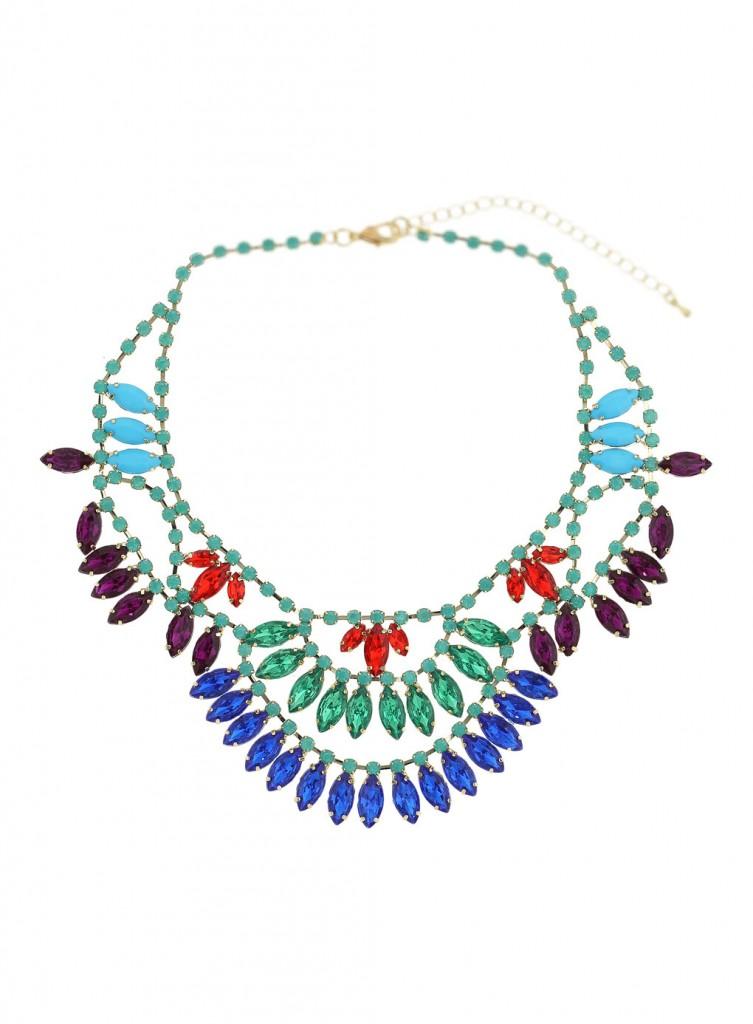 Bright Stone Collar Price: £30.00 click to visit Miss Selfridge