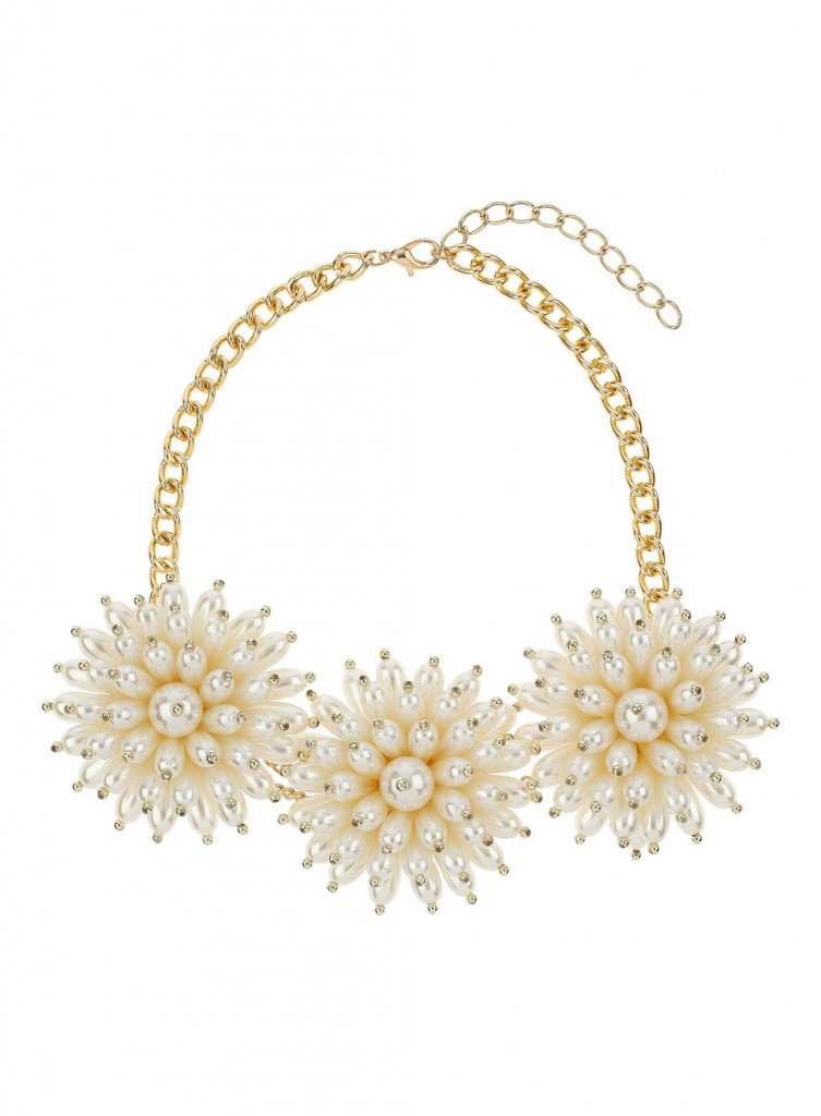 Large Flower Collar     Price: £16.50 click to visit Miss Selfridge
