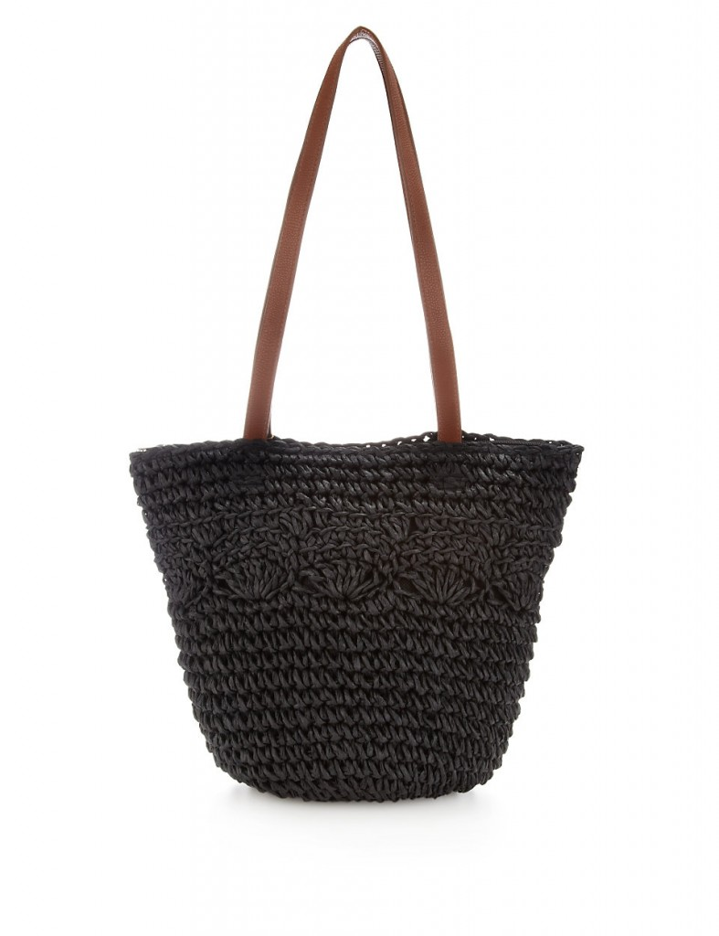 M&S COLLECTION Straw Bucket Tote Bag T836089Y     £12.50 click to visit M&S