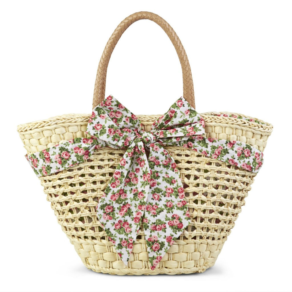 Straw Floral Trim Basket £23.40 click to visit Laura Ashley