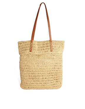Pull&Bear Woven Straw Shoulder Bag £19.99 NOW £12.00 click to visit ASOS