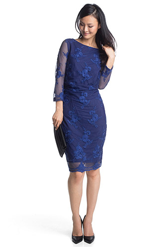embroidered mesh dress £ 75.00 click to visit Esprit