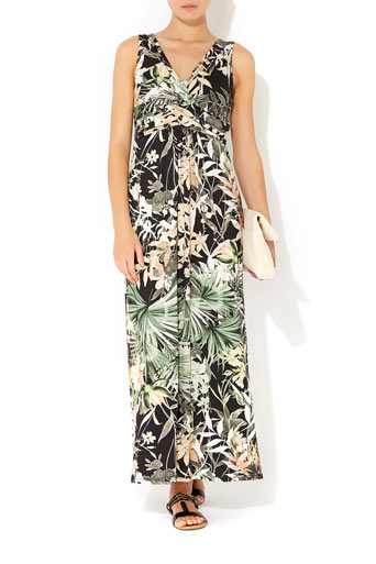 Rainforest Petite Maxi Dress     Was £48.00     Now £38.40 click to visit Wallis