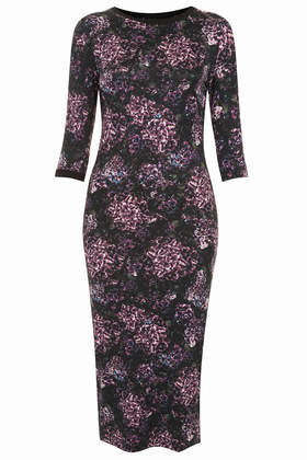 Romantic Floral Bodycon Dress     Price: £32.00 click to visit Topshop