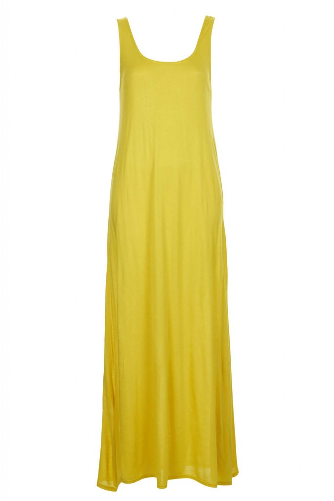 Plain Low Back Maxi Dress     Price: £18.00 click to visit Topshop