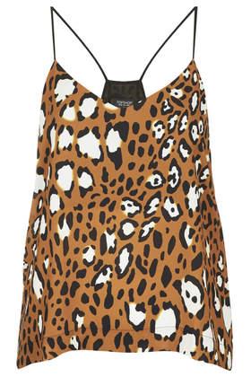 Animal Spot Strappy Cami     Price: £26.00 click to visit Topshop