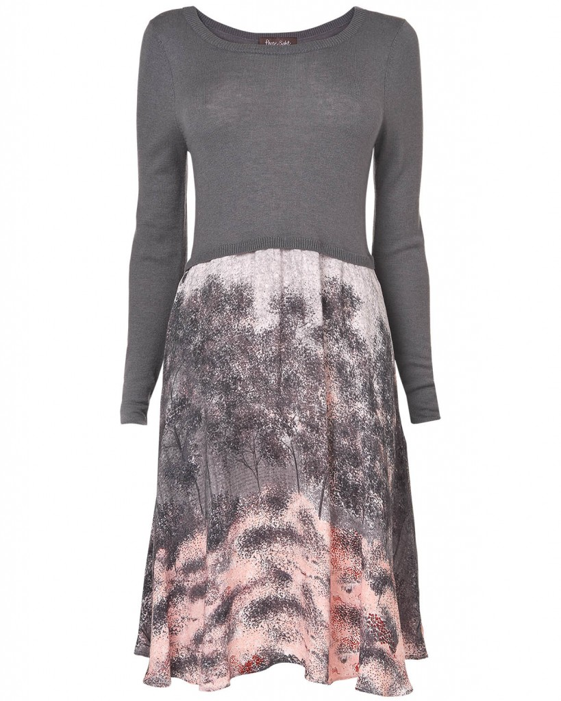 Shadow Tree Print Dress £85.00 click to visit Phase Eight