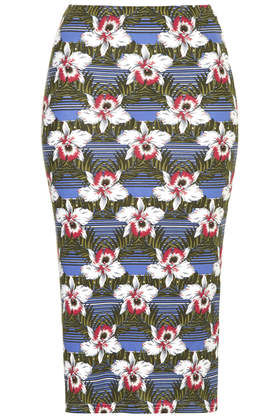 Hawaiian Stripe Tube Skirt     Price: £22.00 click to visit Topshop