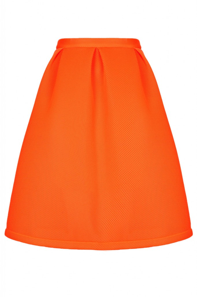 Airtex Pleated Midi Skirt     Price: £58.00 click to visit Topshop