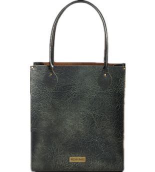Zatchels Green Lava Metallic Leather Tote Bag £125 click to visit Unineed