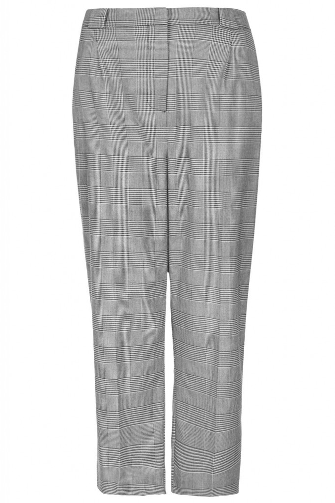 Prince of Wales Check Wide Leg Trousers     Price: £42.00 click to visit Topshop