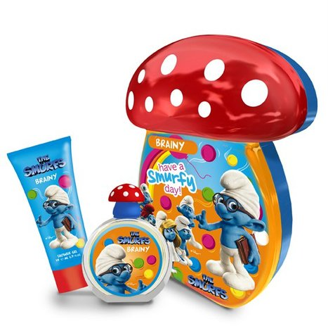 The Smurfs Brainy 50ml EDT Spray / 75ml Bubble Bath £7.50 click to visit Unineed