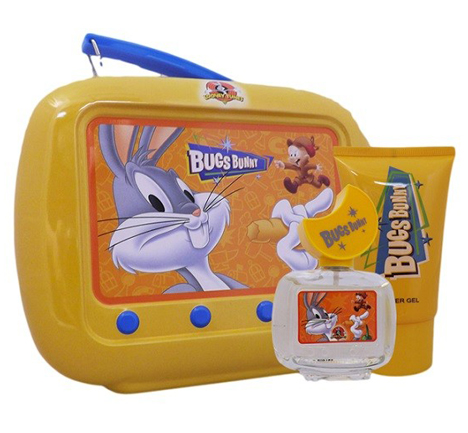 Looney Tunes Bugs Bunny 50ml EDT Spray+ 75ml Shower Gel + Tin 36.50 click to visit Unineed
