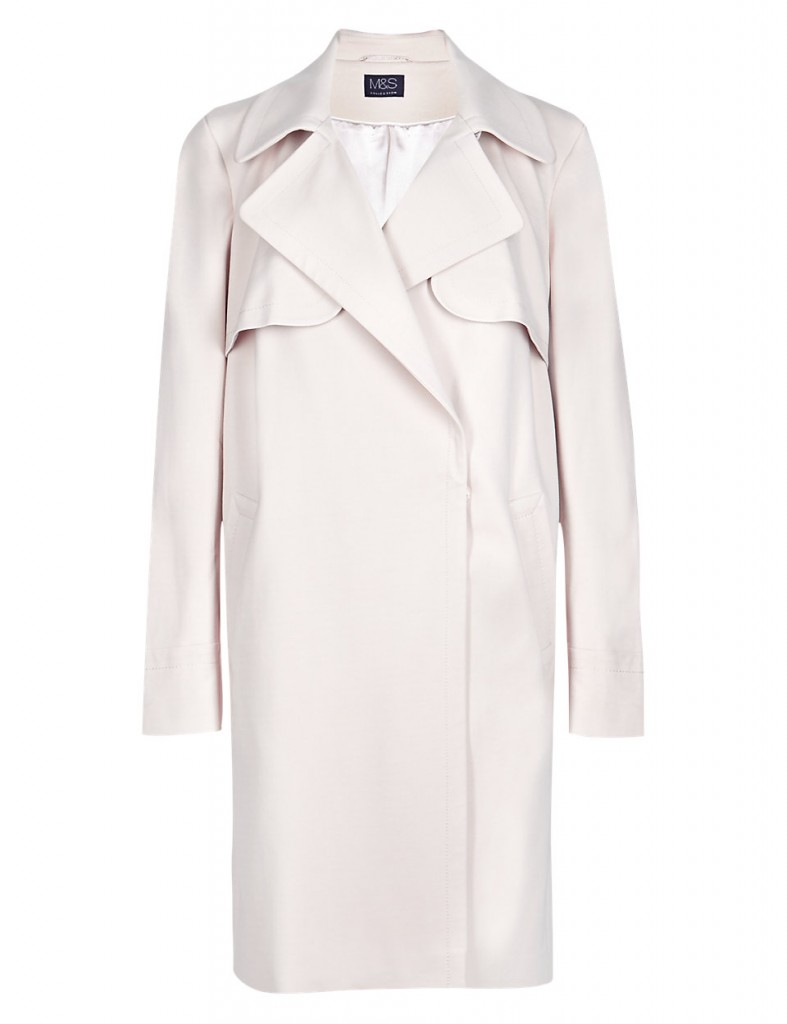M&S COLLECTION Buttonsafe™ Double Breasted Flap Coat with Stormwear™ T491308     £85.00 click to visit M&S