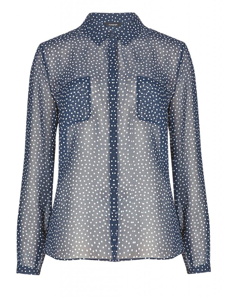 AUTOGRAPH Twin Pockets Spotted Shirt T504323     £35.00  click to view