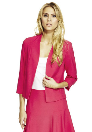 F&F Crepe Open Front Jacket £25.00 click to visit F&F