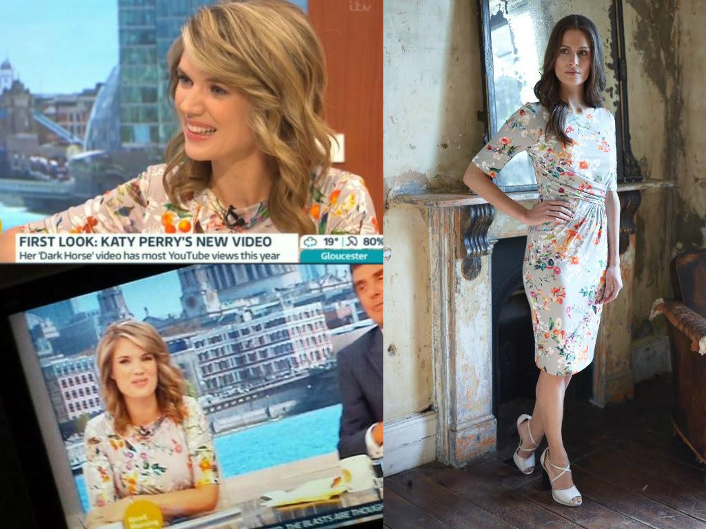Emma Ruche Dress £60 click to visit TM Lewin