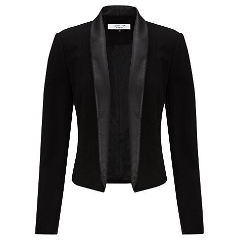 COLLECTION by John Lewis Marzita Crop Jacket, Black £89 click to visit John Lewis