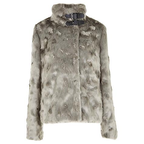 Mint Velvet Teddy Fur Jacket, Grey £149 click to visit John Lewis