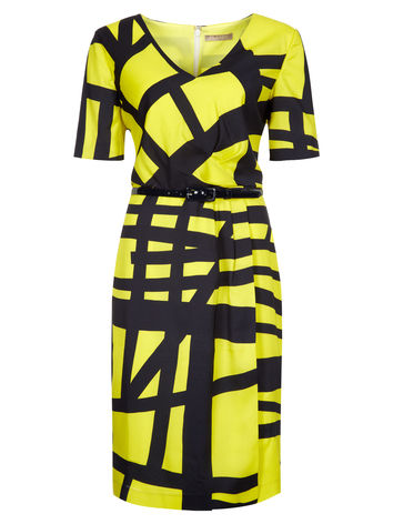 Graphic Print Dress now £69.00 click to visit Planet